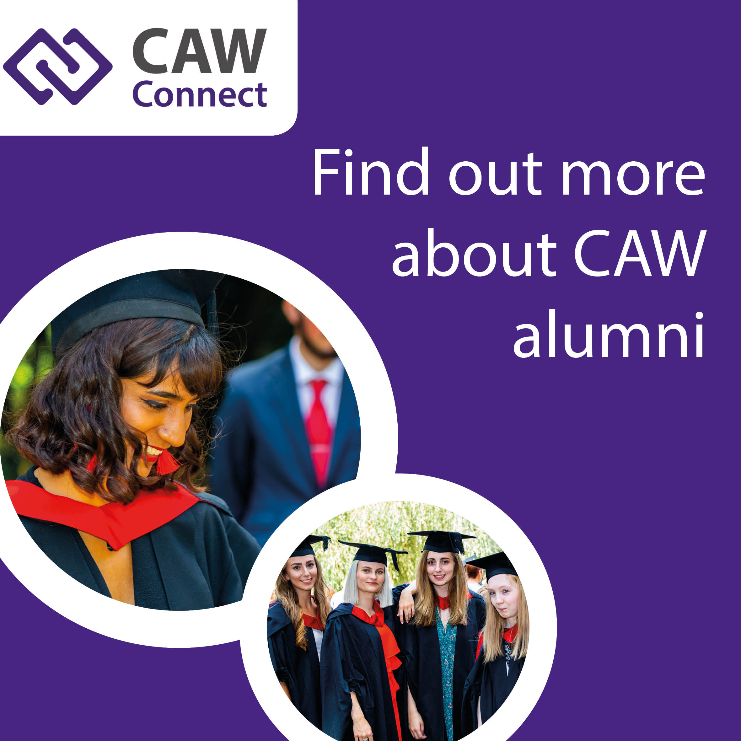 Join your new alumni: CAW Connect